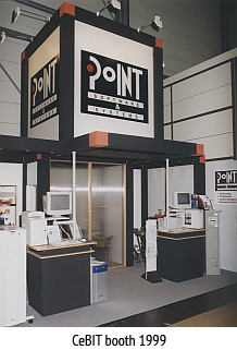 PoINT - CeBIT booth 1999