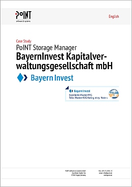 BayernInvest receives Archive-as-a-Service with our software as it is written in this case study.