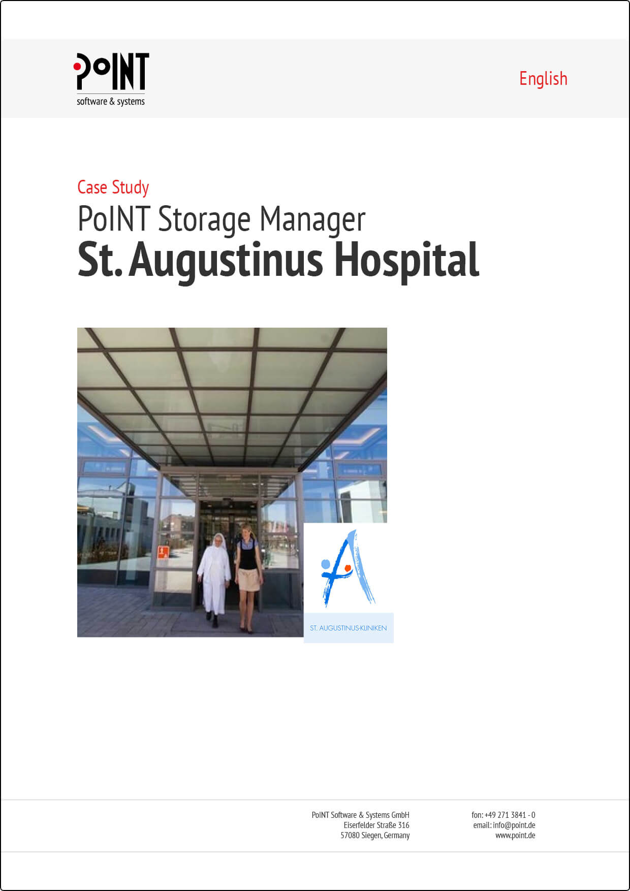 St. Augustinuskliniken does archiving of patient data with PSM.